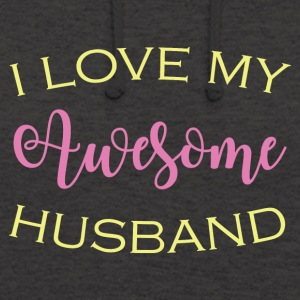 AWESOME HUSBAND - Unisex Hoodie