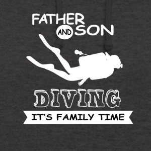 Father And Son - Diving - Unisex Hoodie