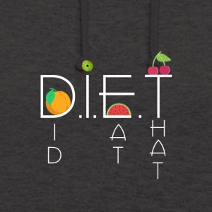 DIET - Sweat-shirt à capuche unisexe