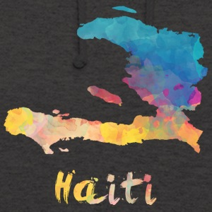 Haitian Watercolor Country - Unisex Hoodie