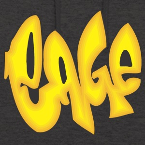 cage graffiti - Sweat-shirt à capuche unisexe