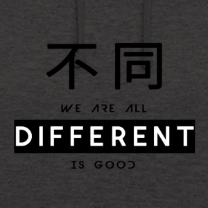 Different is good - Unisex Hoodie