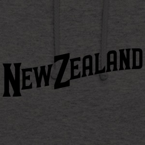 new zealand - Sweat-shirt à capuche unisexe