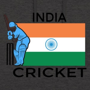 India Cricket Player Flag - Unisex Hoodie