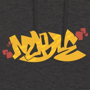 graffiti moral - Sweat-shirt à capuche unisexe