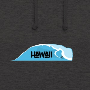 ondes Hawaii - Sweat-shirt à capuche unisexe