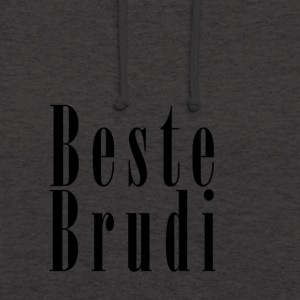 Brudi_black - Sweat-shirt à capuche unisexe
