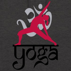 Yoga OM - Sweat-shirt à capuche unisexe