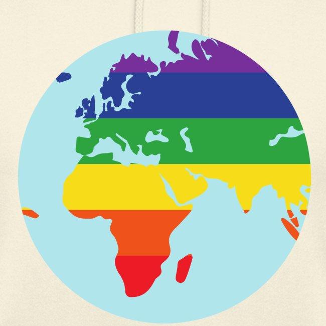 Erde   Regenbogen   LGBT