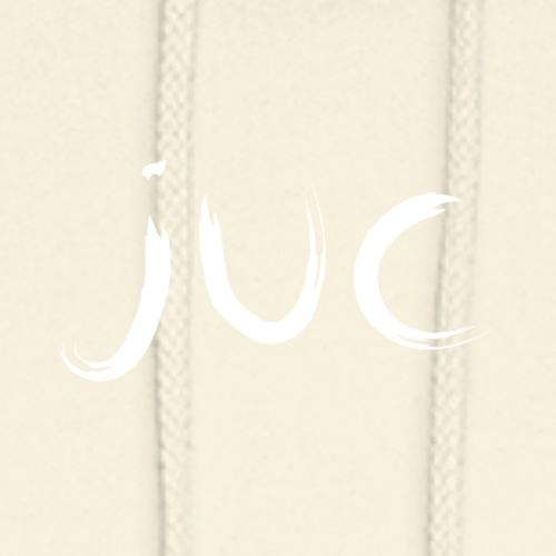 JUC txt white - Sweat-shirt à capuche unisexe