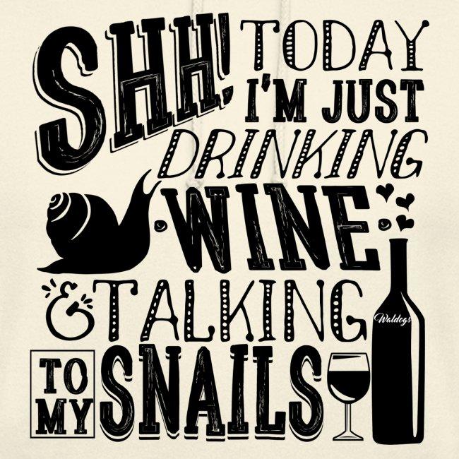 SHH Snails Black