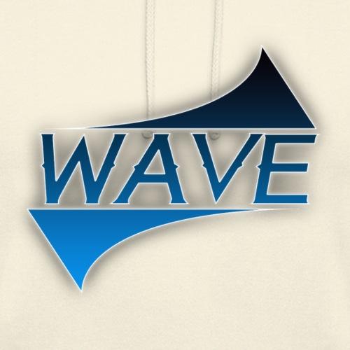 LOGO WAVE png - Unisex Hoodie