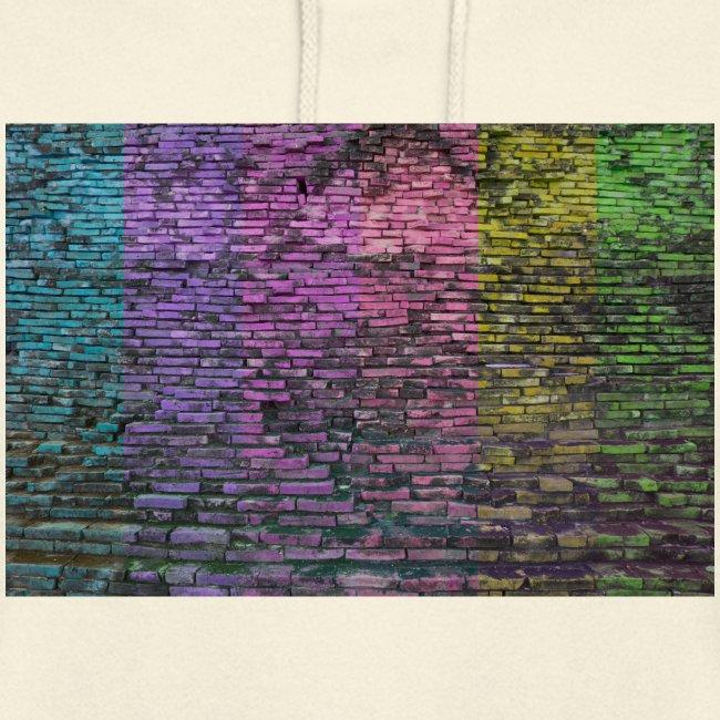 Regenbogenwand