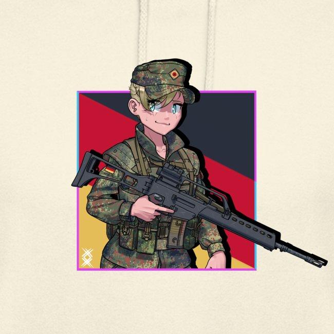 Bundeswehr anime girl