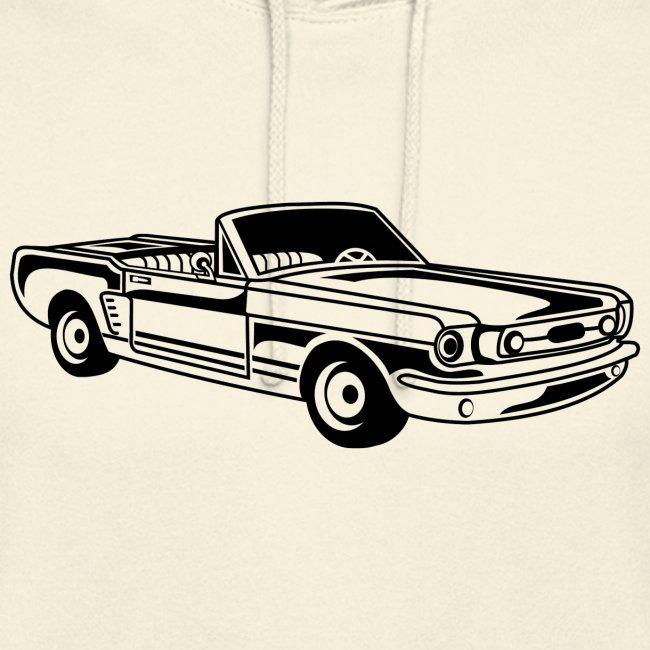 Cabrio / Muscle Car 02_schwarz