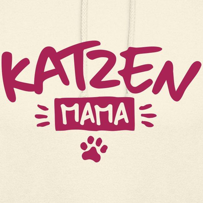 Vorschau: Katzen Mama - Unisex Hoodie