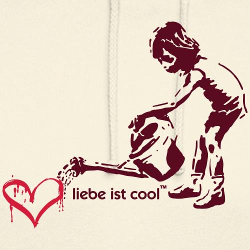 liebe ist cool - Unisex Hoodie