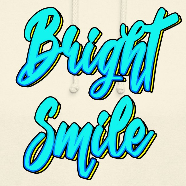Bright smile bleu fluo