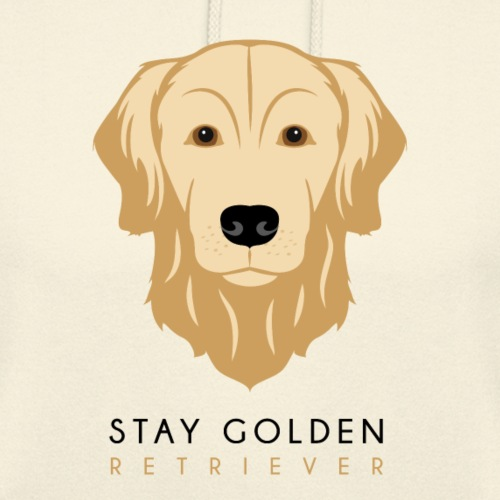 Golden Retriever - Dark - Felpa con cappuccio unisex