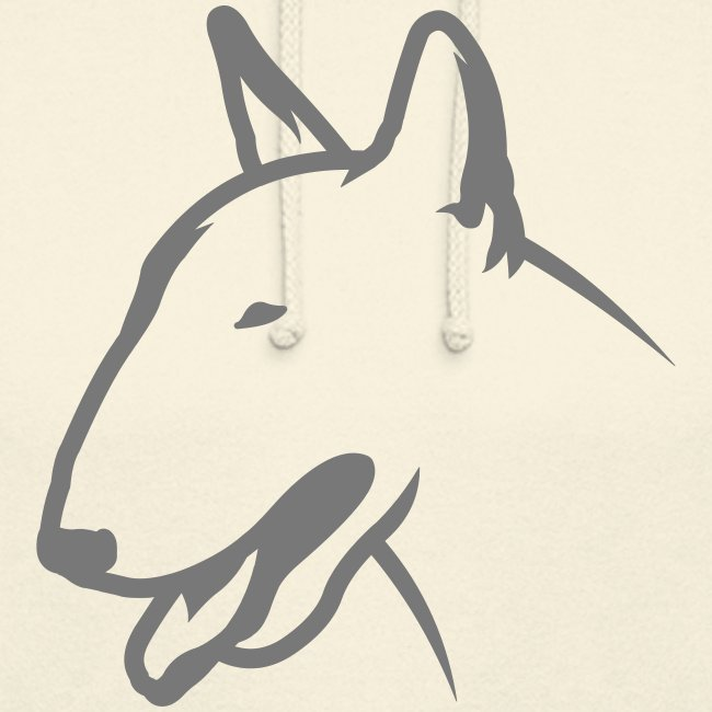 Bullterrier BULLY HEAD 1c_4light
