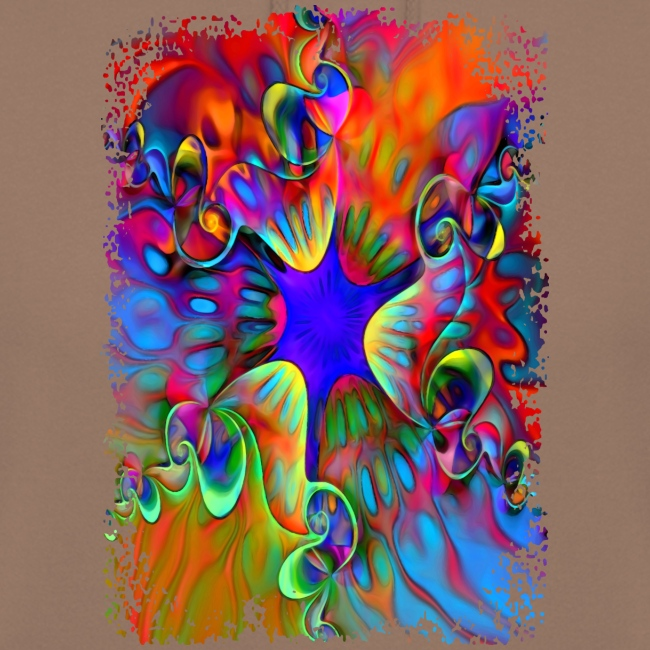 psychedelic power flower