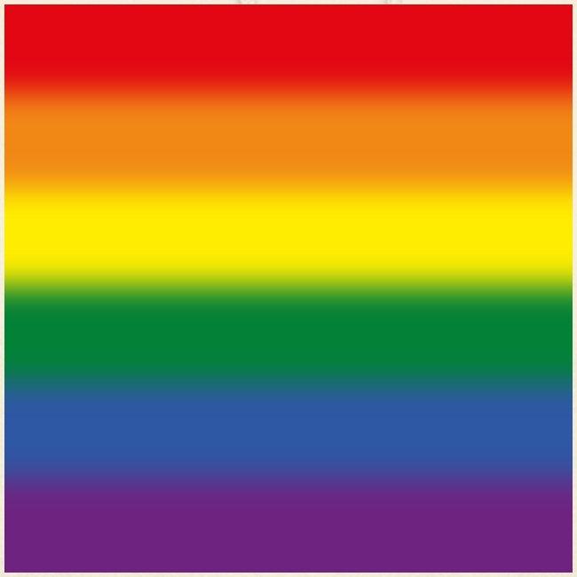 Verschwommene LGBT Flagge