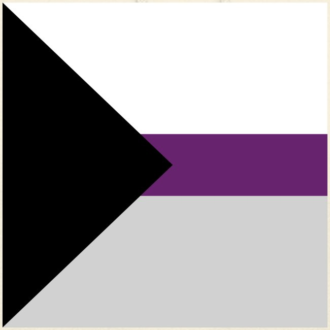Demisexuell Flagge