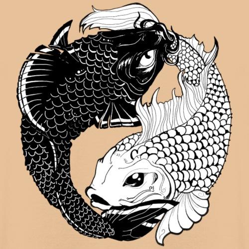 Yin en Yang Koy - Hoodie unisex