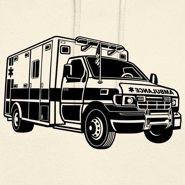 Krankenwagen / Rettungswagen 01_schwarz