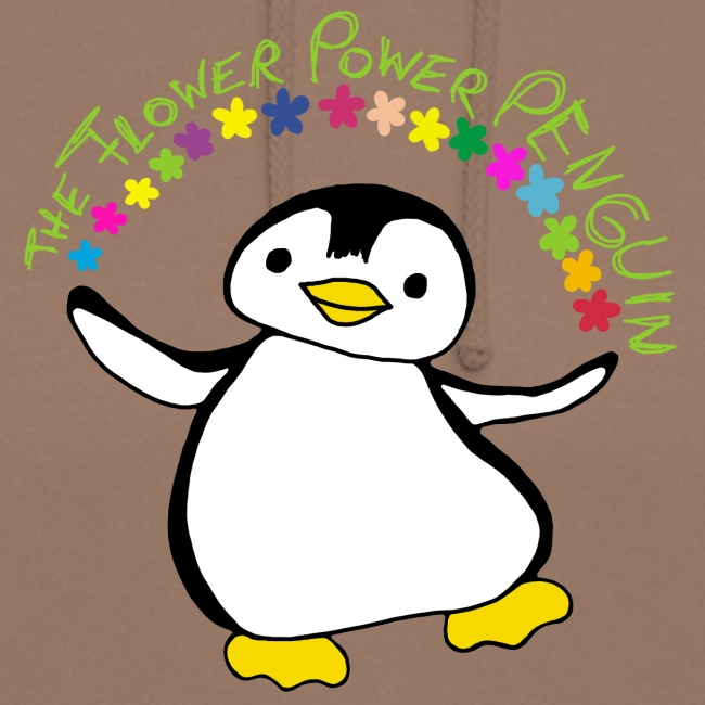 Pinguin Flower Power
