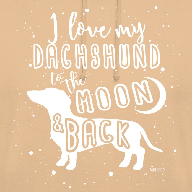 Dachshund Smooth Moon