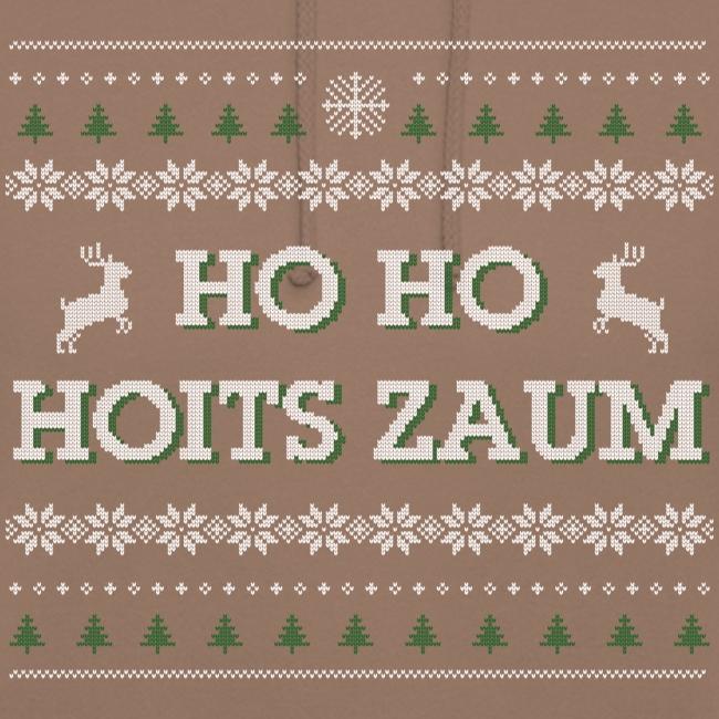 Vorschau: Ho Ho Hoits zaum - Unisex Hoodie