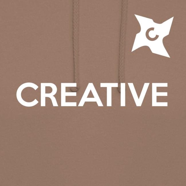 Creative simple black and white shirt