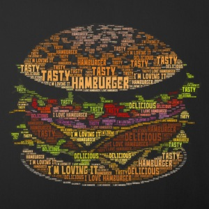I Love Hamburger - Sofa pillow cover 44 x 44 cm