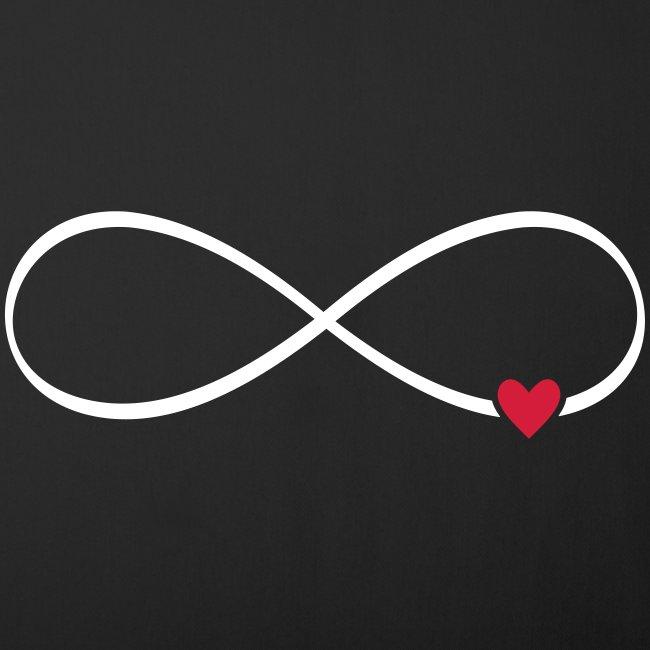 Herz unendlichkeit Zeichen Symbol Geschenk
