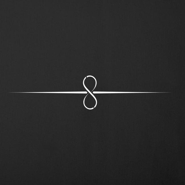 Through Infinity white symbol