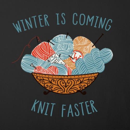 Time for knitting - Sofakissenbezug 44 x 44 cm