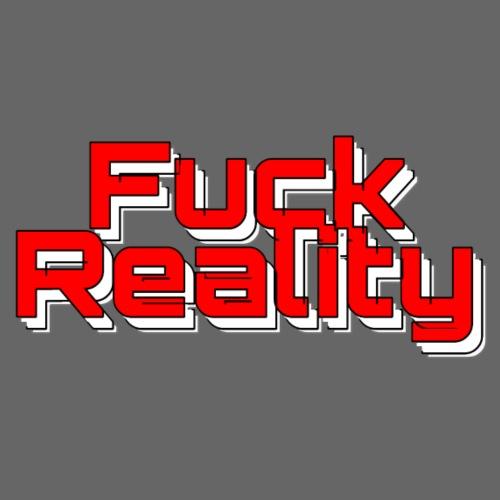 Fuck Reality (red ) - Sofakissenbezug 44 x 44 cm