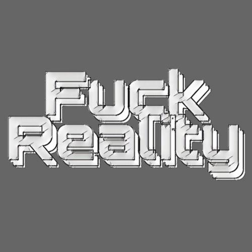 Fuck Reality (grey day ) - Sofakissenbezug 44 x 44 cm