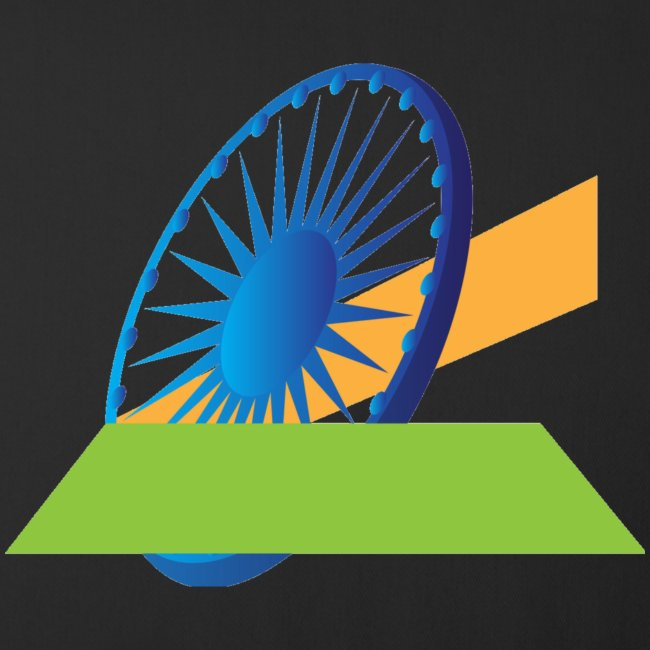 Indian Flag Graphics