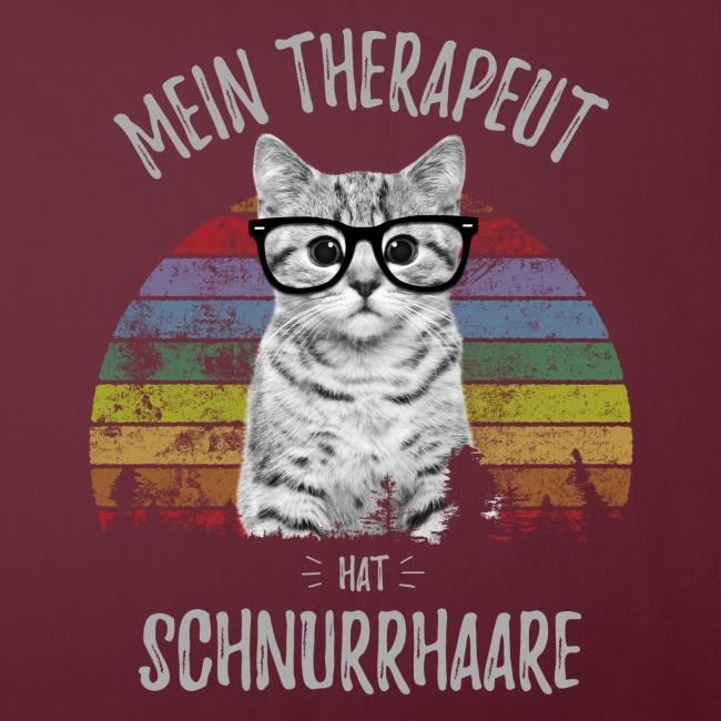 Vorschau: Therapeut Katze - Sofakissenbezug 44 x 44 cm