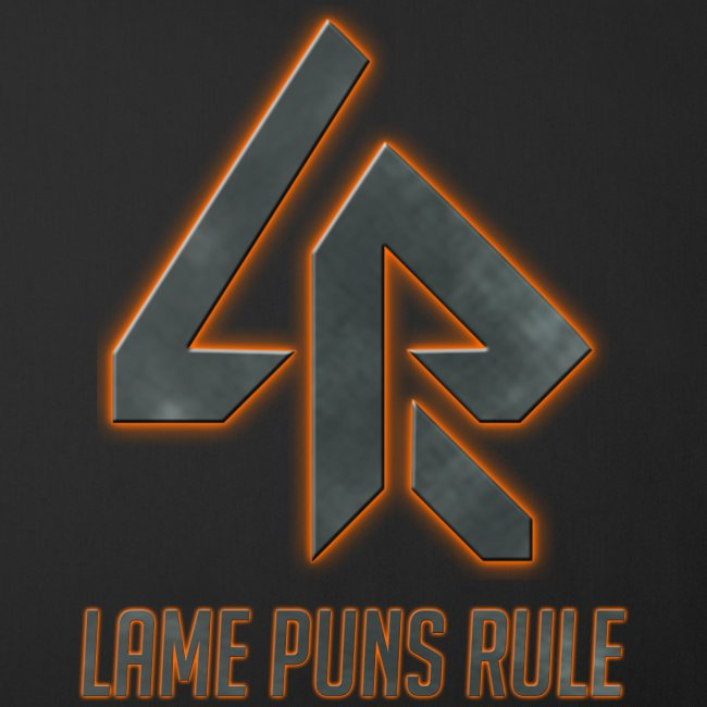 Lame Puns Rule: Logo