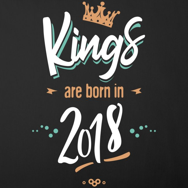 Kings are born in 2018