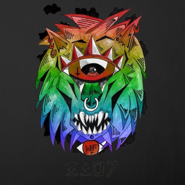 lion multi-color