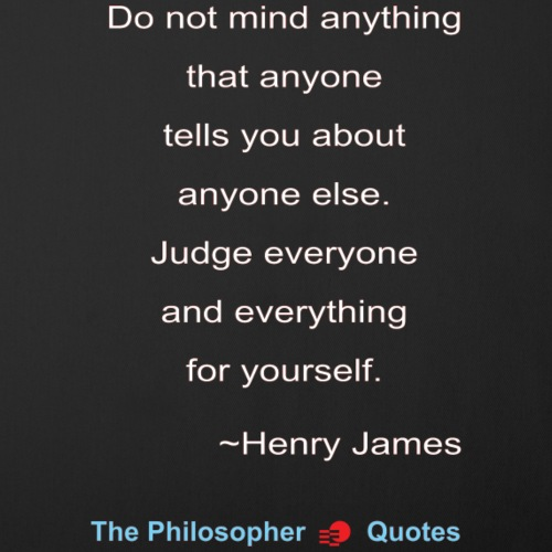 Henry James Judging-w - Sierkussenhoes, 45 x 45 cm