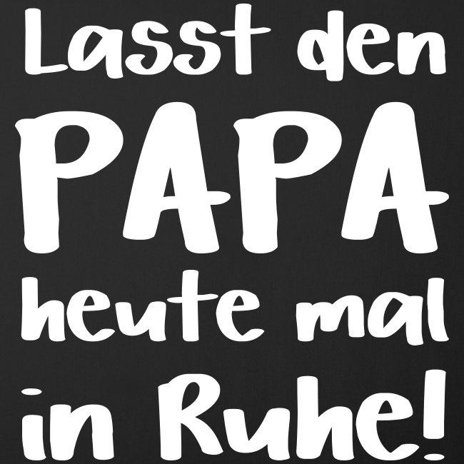Vater Geschenk Sprüche Papa In Ruhe Lassen Sofakissenbezug 44 X 44 Cm