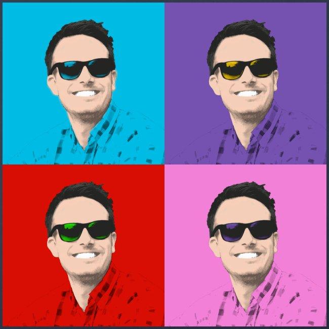 Pop art multi color jpg
