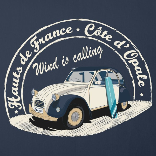 2CV - Wind is calling ( Le vent m'appelle!)