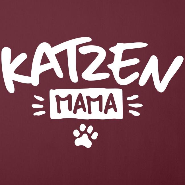 Vorschau: Katzen Mama - Sofakissenbezug 44 x 44 cm