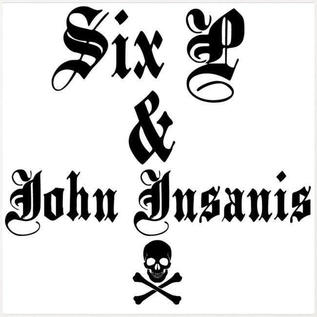 Six P & John Insanis Pääkallo 3 Paita